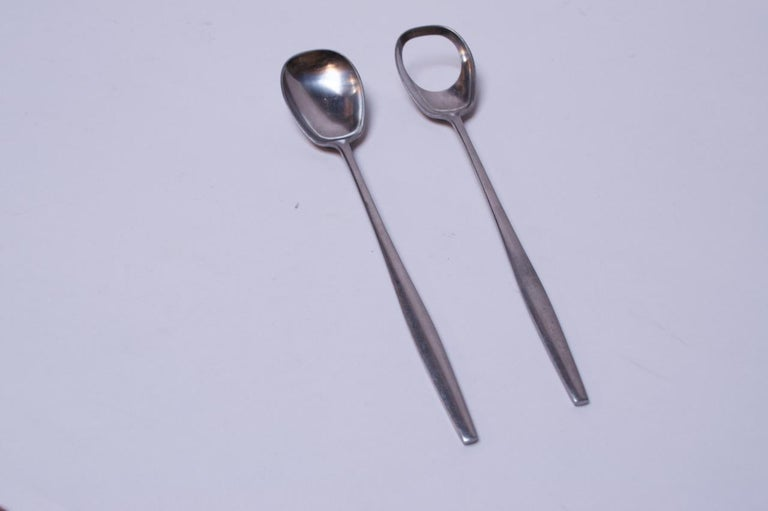 Salad Serving Spoon and Fork Set for Variation V Dansk International Designs