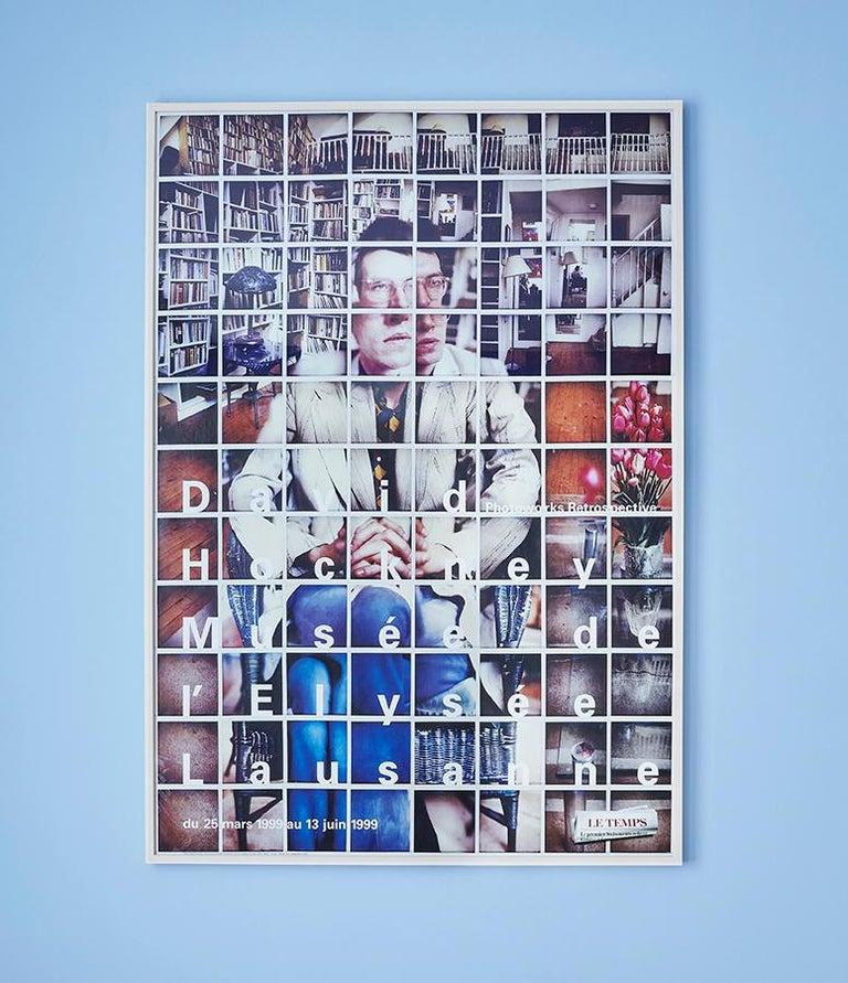 David Hockney Switzerland, 1999  Vintage exhibition poster
