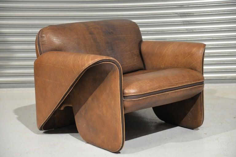 Vintage De Sede 'DS 125' Armchair Designed by Gerd Lange, Switzerland, 1978 2