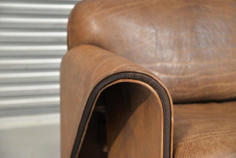 Vintage De Sede 'DS 125' Armchair Designed by Gerd Lange, Switzerland, 1978 7