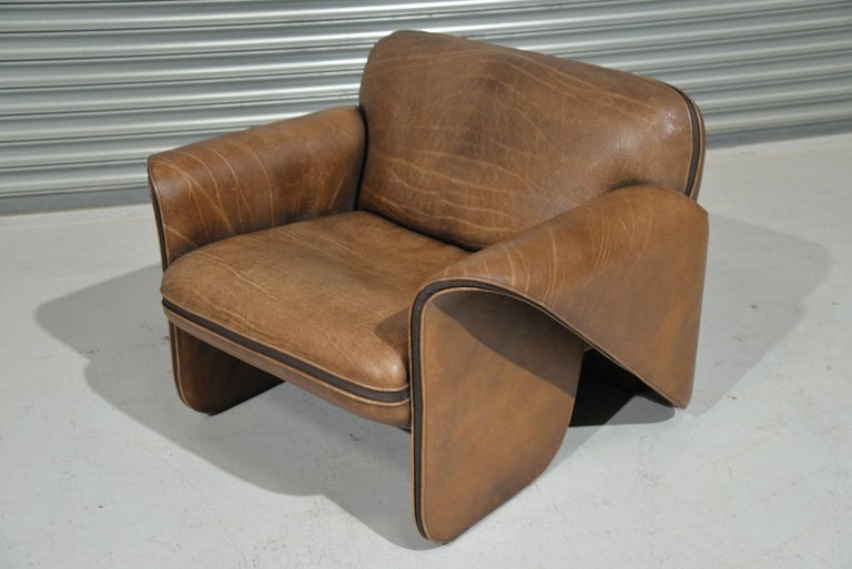 Mid-Century Modern Vintage De Sede 'DS 125' Armchair Designed by Gerd Lange, Switzerland, 1978
