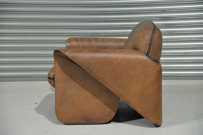 Swiss Vintage De Sede 'DS 125' Armchair Designed by Gerd Lange, Switzerland, 1978