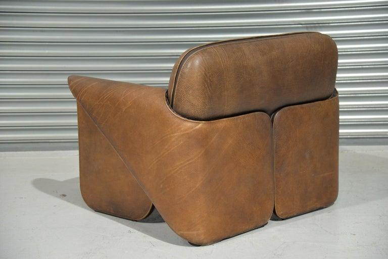 Vintage De Sede 'DS 125' Armchair Designed by Gerd Lange, Switzerland, 1978 In Good Condition In Fen Drayton, Cambridgeshire