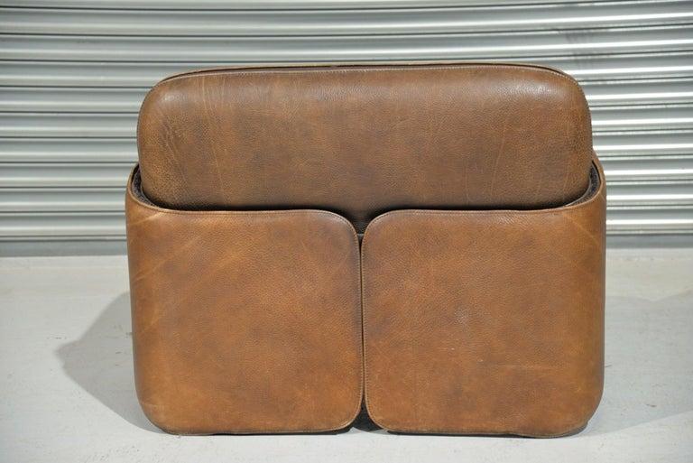 Late 20th Century Vintage De Sede 'DS 125' Armchair Designed by Gerd Lange, Switzerland, 1978