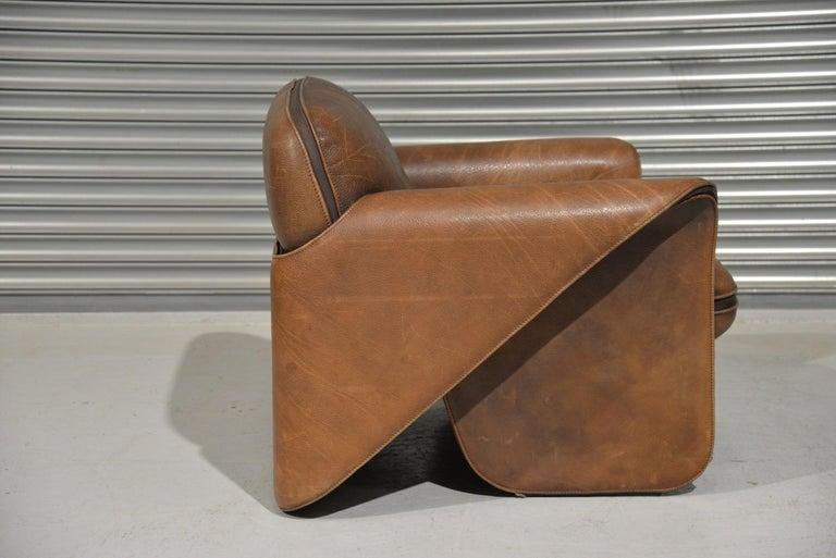 Vintage De Sede 'DS 125' Armchair Designed by Gerd Lange, Switzerland, 1978 1