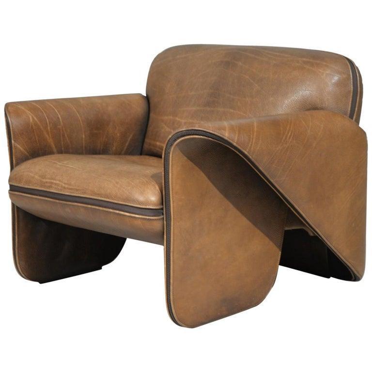 Vintage De Sede 'DS 125' Armchair Designed by Gerd Lange, Switzerland, 1978