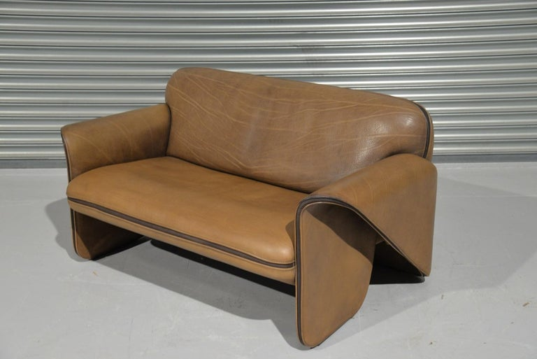 Swiss Vintage De Sede DS 125 Sofa Designed by Gerd Lange, Switzerland, 1978 For Sale
