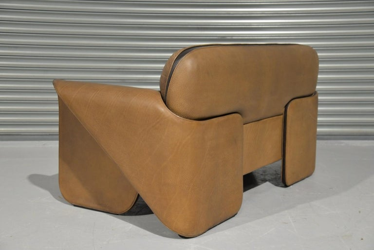 Late 20th Century Vintage De Sede DS 125 Sofa Designed by Gerd Lange, Switzerland, 1978 For Sale