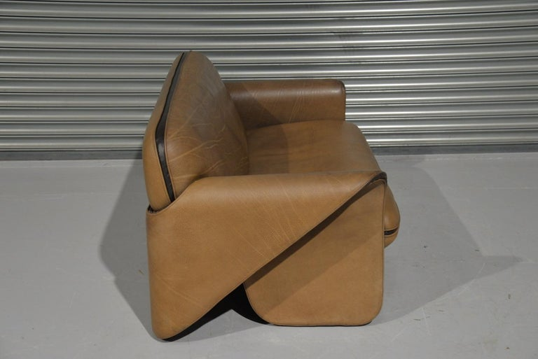 Vintage De Sede DS 125 Sofa Designed by Gerd Lange, Switzerland, 1978 For Sale 1