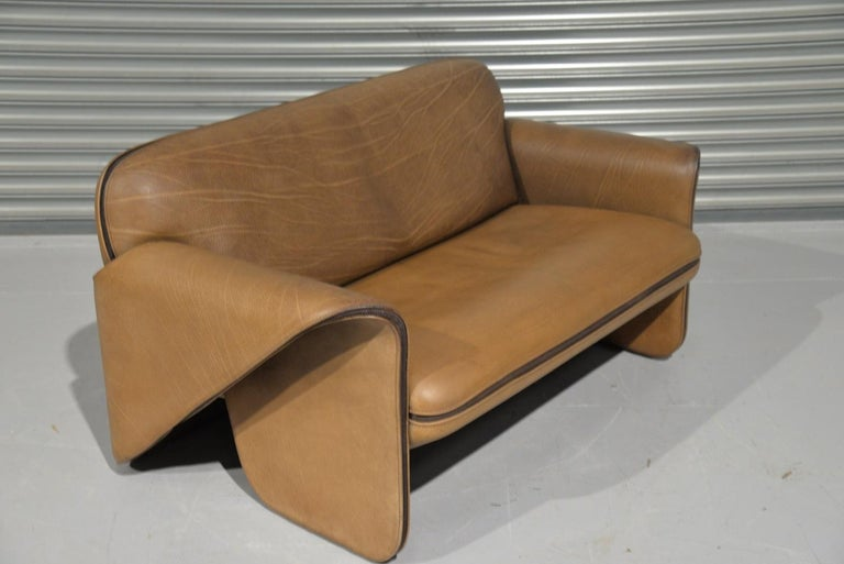 Vintage De Sede DS 125 Sofa Designed by Gerd Lange, Switzerland, 1978 For Sale 2