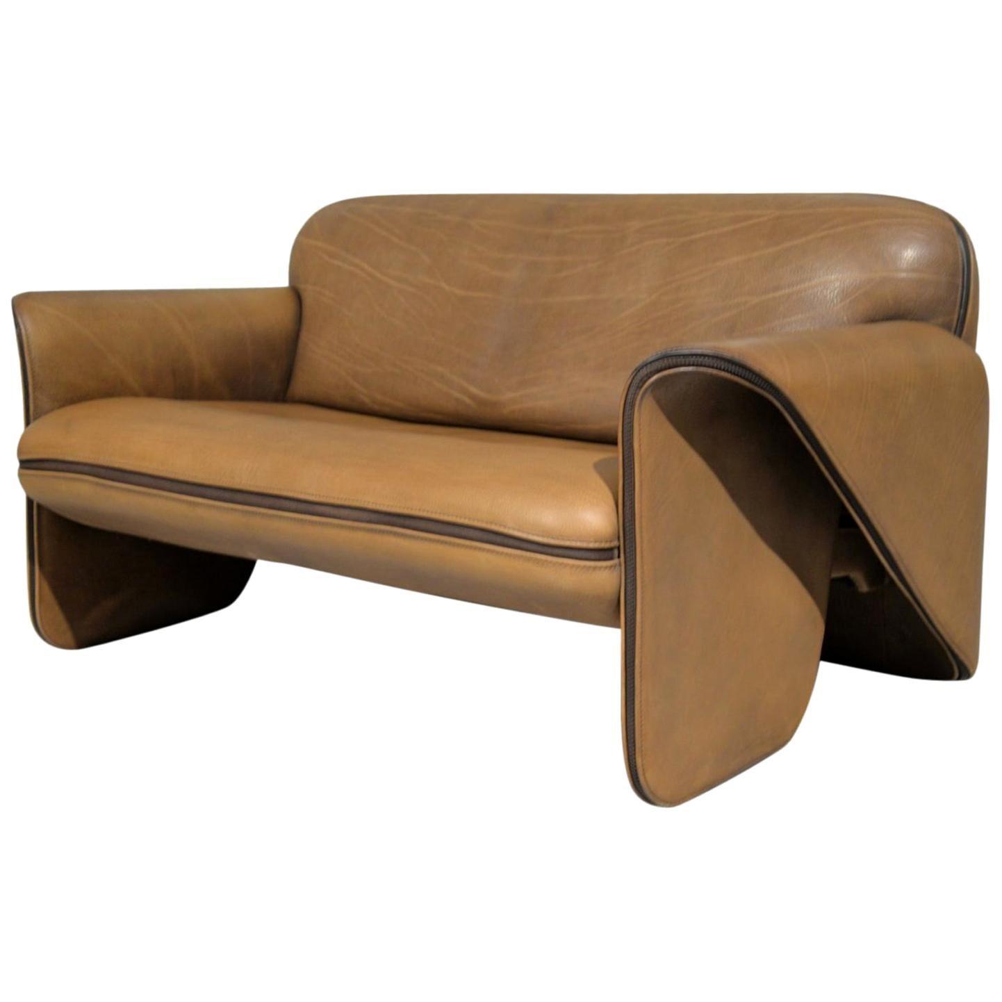 Vintage De Sede DS 125 Sofa Designed by Gerd Lange, Switzerland, 1978