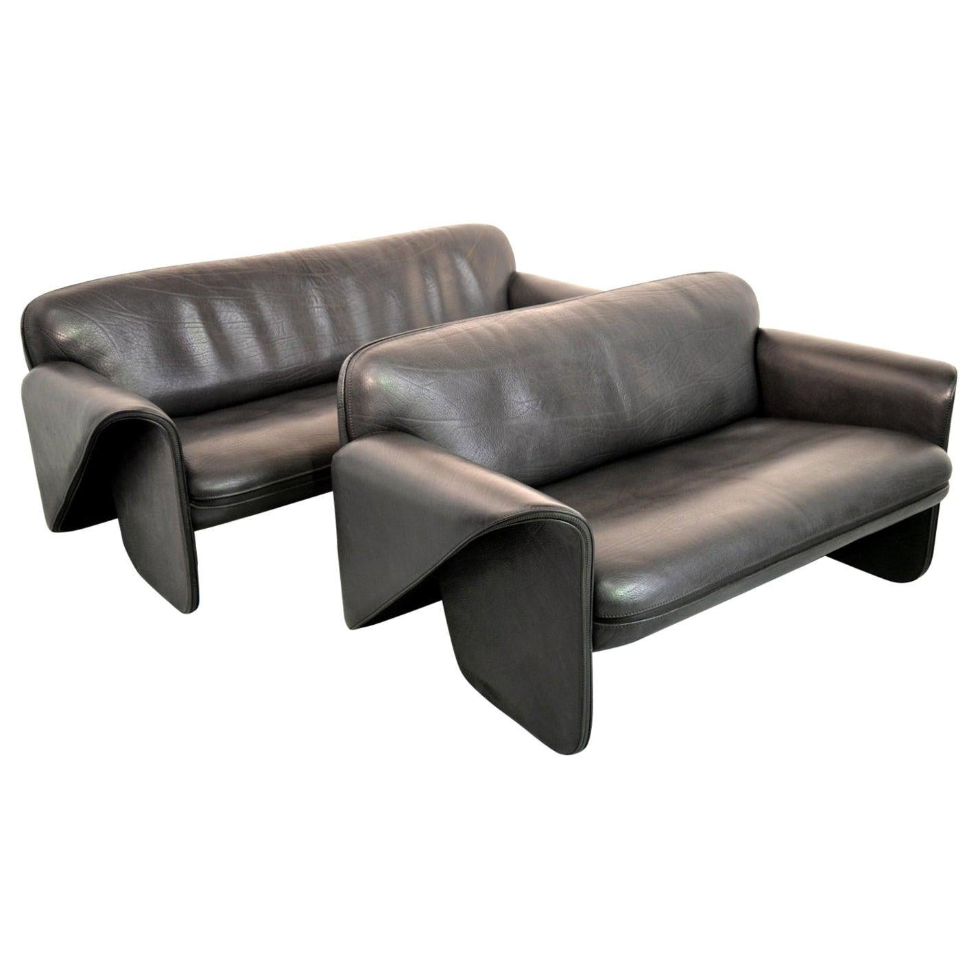 Vintage De Sede DS 125 Sofas Designed by Gerd Lange, Switzerland, 1978