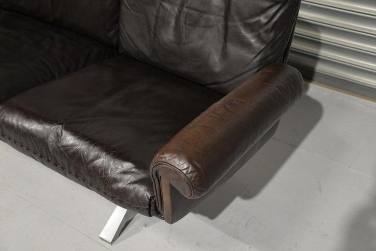 Vintage De Sede DS 31 Three-Seat Sofa, Switzerland, 1970s For Sale 3