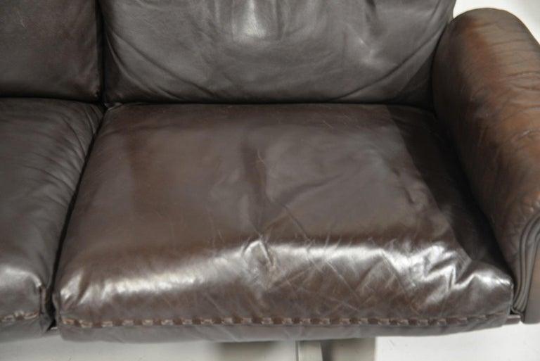 Vintage De Sede DS 31 Three-Seat Sofa, Switzerland, 1970s For Sale 9
