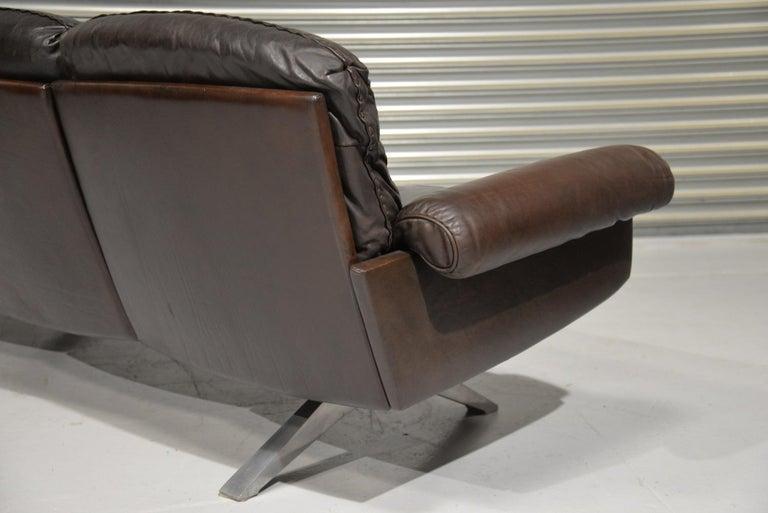Late 20th Century Vintage De Sede DS 31 Three-Seat Sofa, Switzerland, 1970s For Sale
