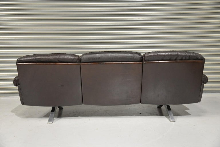 Vintage De Sede DS 31 Three-Seat Sofa, Switzerland, 1970s For Sale 1