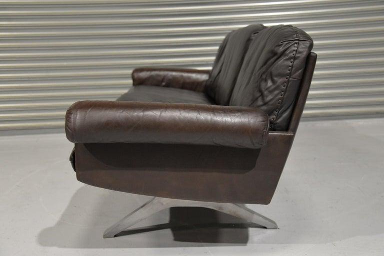 Vintage De Sede DS 31 Three-Seat Sofa, Switzerland, 1970s For Sale 2