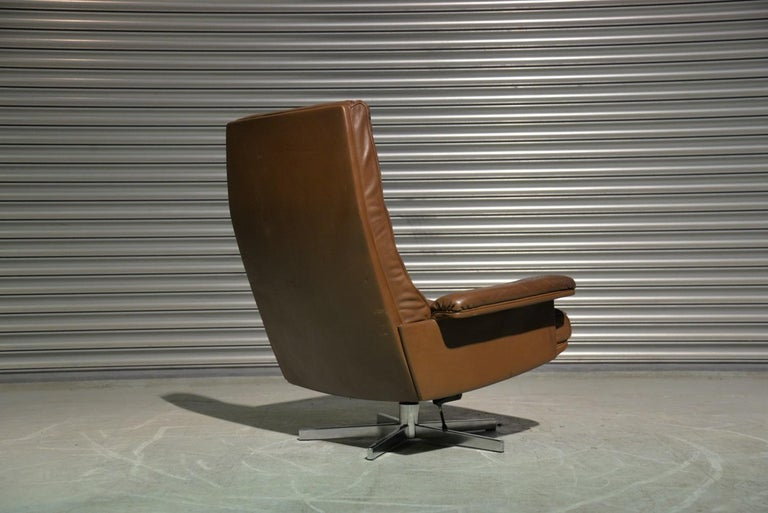 Late 20th Century Vintage De Sede DS 35 Swivel Armchair by Robert Haussmann, Switzerland 1970s