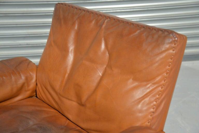Vintage De Sede DS 35 Swivel Lounge Armchair, 1970`s For Sale 6