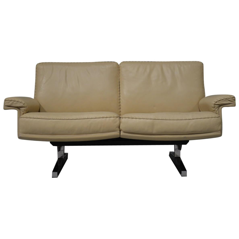 Vintage De Sede DS 35 Two-Seat Sofa or Loveseat, Switzerland, 1970s