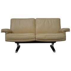 Vintage De Sede DS 35 Two-Seat Sofa or Loveseat, Switzerland, 1970s