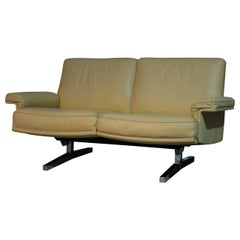 Vintage De Sede DS 35 Two-Seat Sofa or Loveseat, Swizerland, 1970s