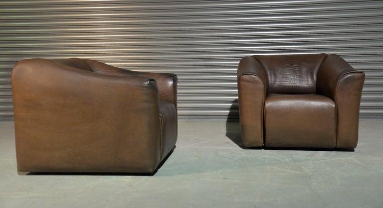 Late 20th Century Vintage De Sede DS 47 Armchairs, Switzerland, 1970s For Sale