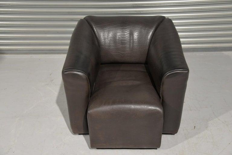 Vintage De Sede DS 47 Leather Armchair, Switzerland, 1970s 8