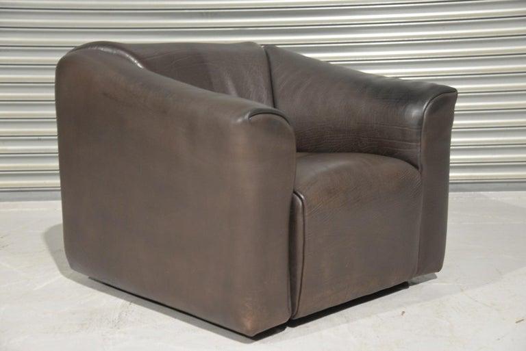Vintage De Sede DS 47 Leather Armchair, Switzerland, 1970s For Sale 4