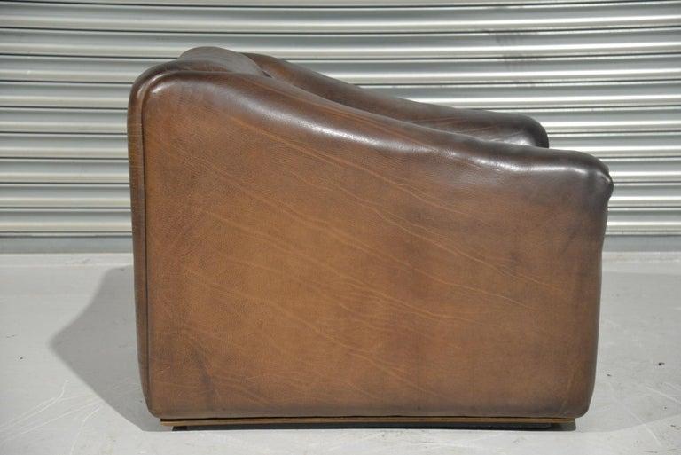 Vintage De Sede DS 47 Leather Armchair, Switzerland, 1970s 3