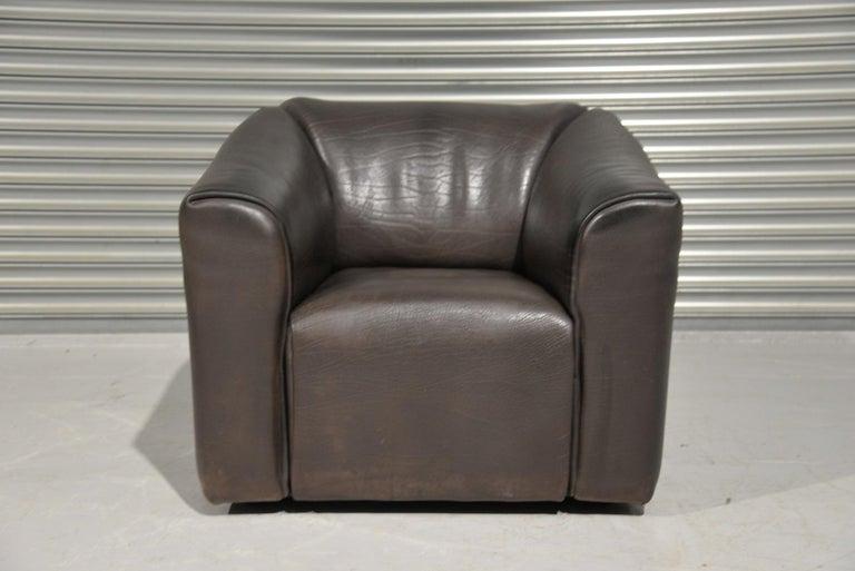 Vintage De Sede DS 47 Leather Armchair, Switzerland, 1970s 6