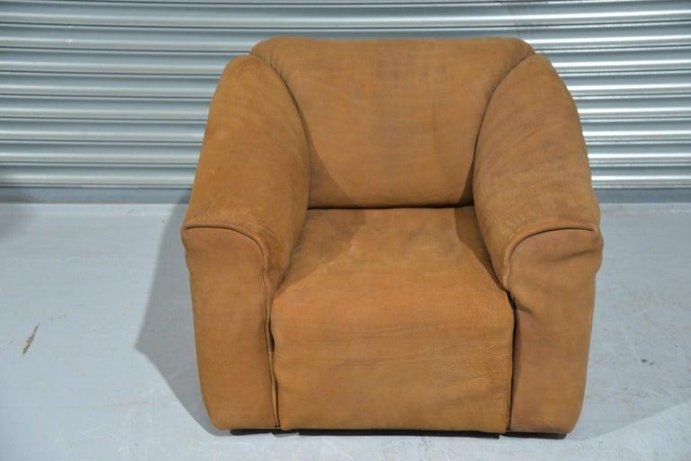 Vintage De Sede DS 47 Leather Armchair, Switzerland, 1970s For Sale 6