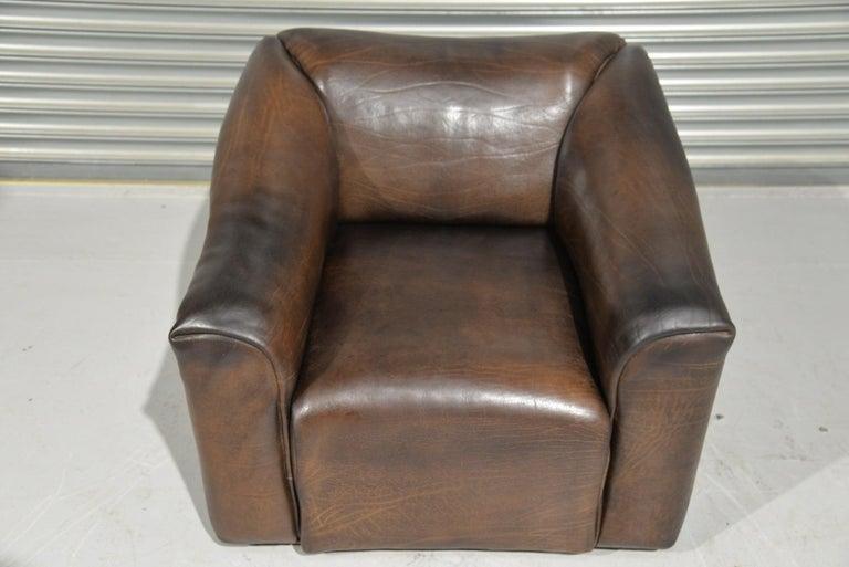 Vintage De Sede DS 47 Leather Armchair, Switzerland, 1970s For Sale 7