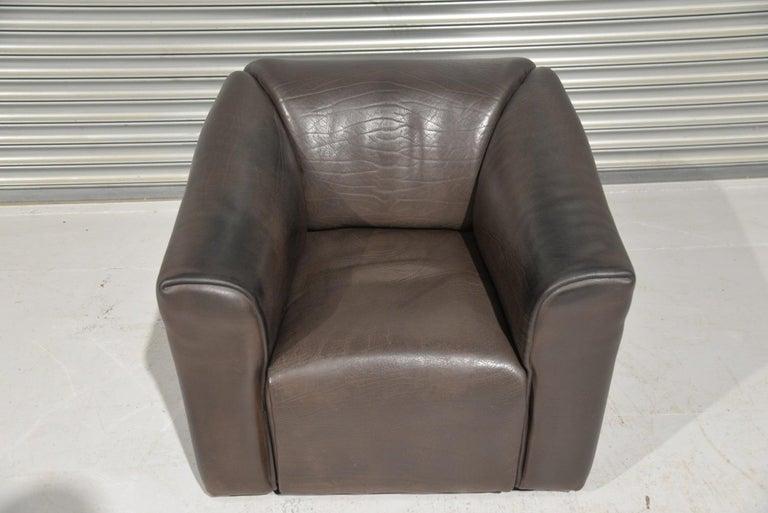Vintage De Sede DS 47 Leather Armchair, Switzerland, 1970s 7