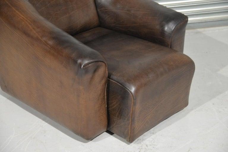Vintage De Sede DS 47 Leather Armchair, Switzerland, 1970s For Sale 8