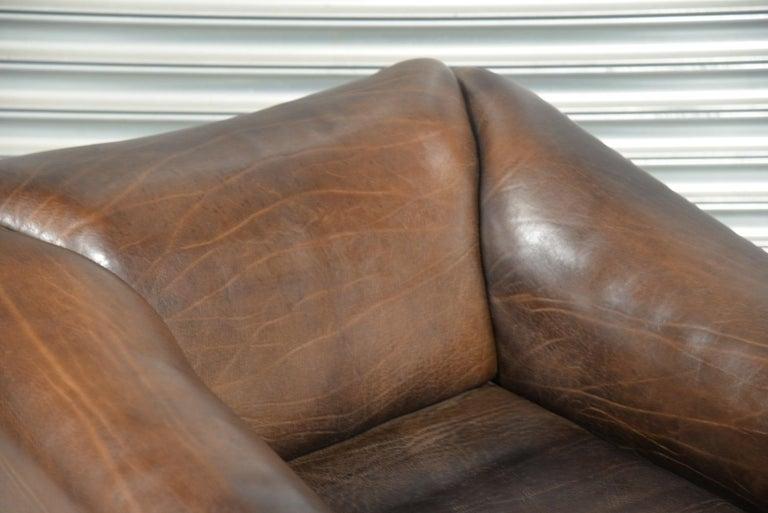 Vintage De Sede DS 47 Leather Armchair, Switzerland, 1970s 9
