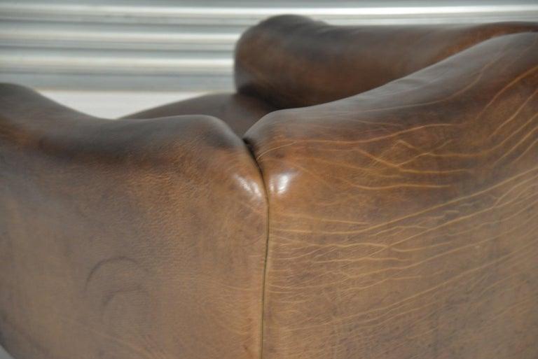 Vintage De Sede DS 47 Leather Armchair, Switzerland, 1970s 11