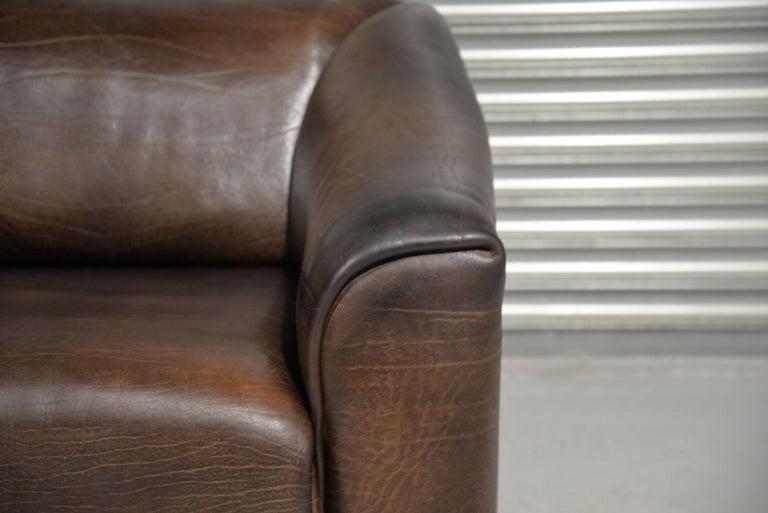 Vintage De Sede DS 47 Leather Armchair, Switzerland, 1970s 13