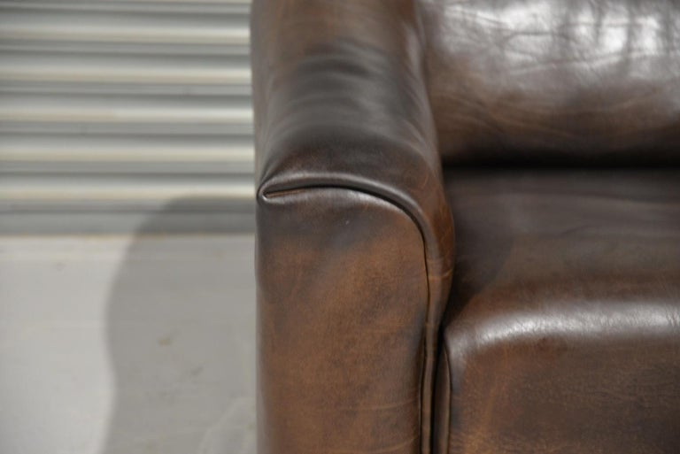 Vintage De Sede DS 47 Leather Armchair, Switzerland, 1970s For Sale 14