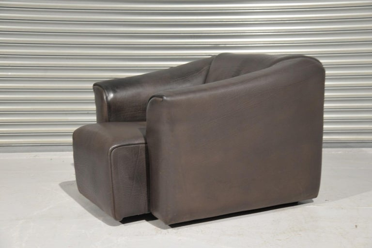 Swiss Vintage De Sede DS 47 Leather Armchair, Switzerland, 1970s For Sale