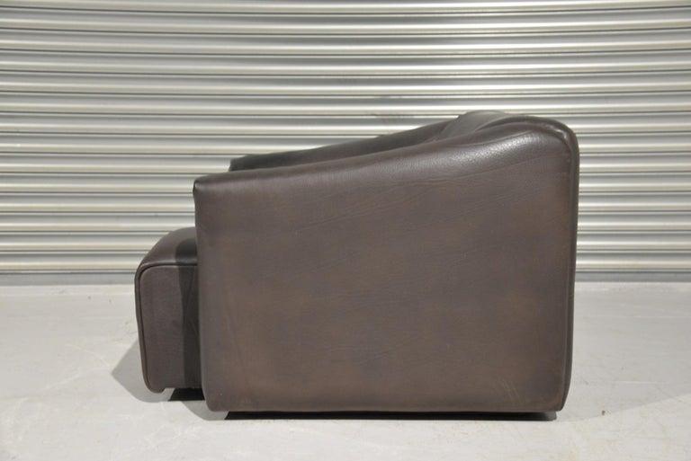 Vintage De Sede DS 47 Leather Armchair, Switzerland, 1970s In Good Condition For Sale In Fen Drayton, Cambridgeshire