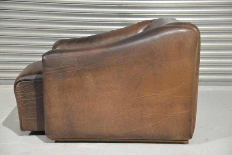 Swiss Vintage De Sede DS 47 Leather Armchair, Switzerland, 1970s