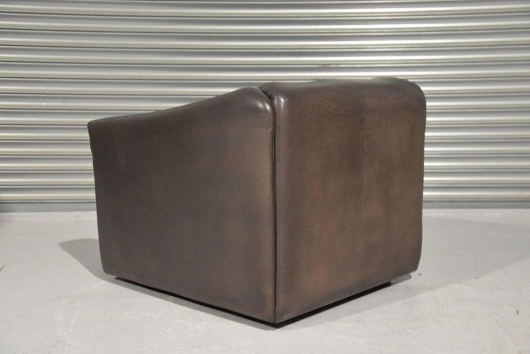 Late 20th Century Vintage De Sede DS 47 Leather Armchair, Switzerland, 1970s For Sale