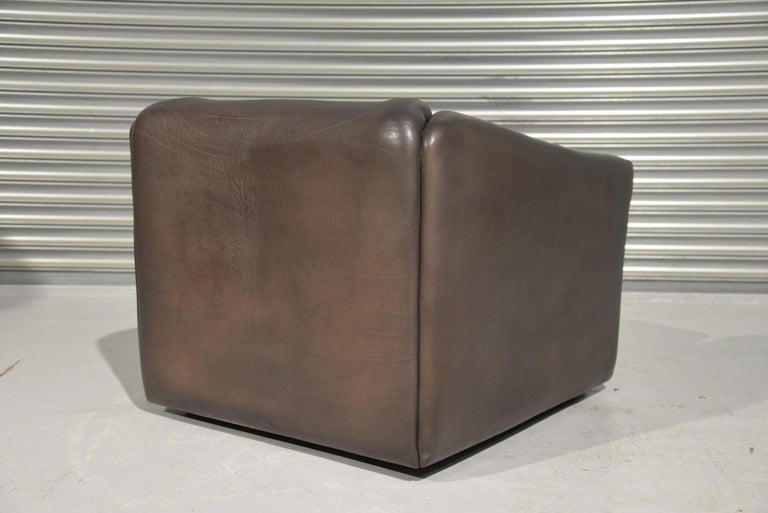 Vintage De Sede DS 47 Leather Armchair, Switzerland, 1970s 2