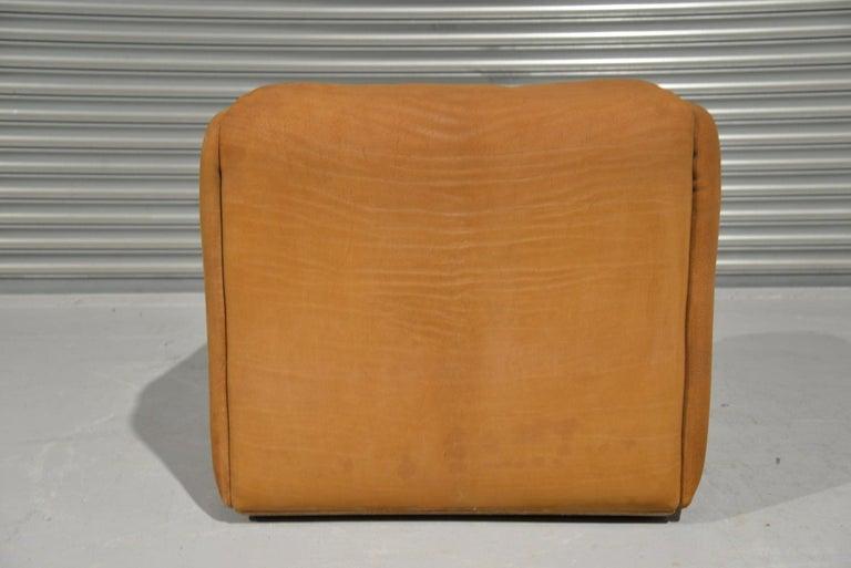 Wood Vintage De Sede DS 47 Leather Armchair, Switzerland, 1970s