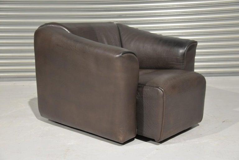 Vintage De Sede DS 47 Leather Armchair, Switzerland, 1970s 5