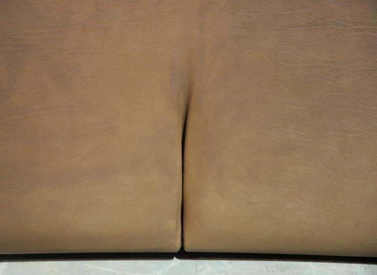 Vintage De Sede DS 47 Leather Sofa, Switzerland, 1970s For Sale 4