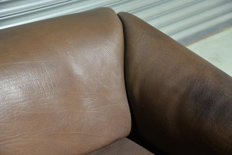 Vintage De Sede DS 47 Leather Sofa, Switzerland, 1970s For Sale 9