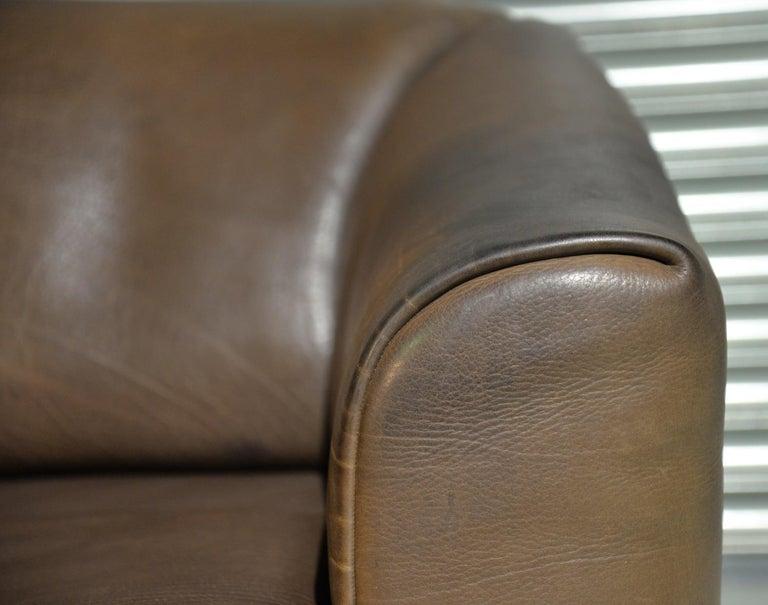 Vintage De Sede DS 47 Leather Sofa, Switzerland, 1970s For Sale 11