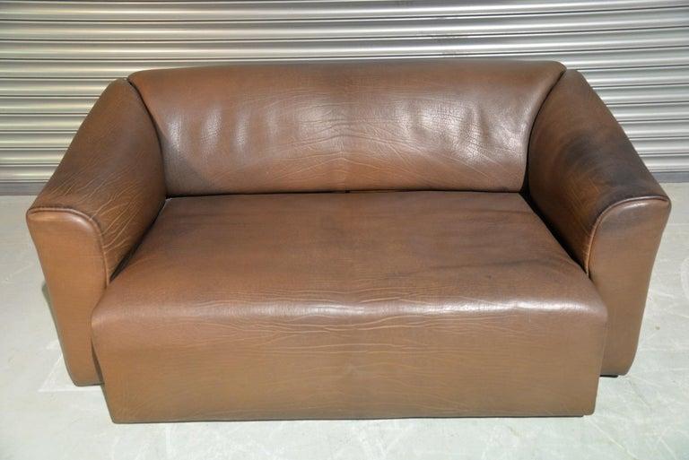 Late 20th Century Vintage De Sede DS 47 Leather Sofa, Switzerland, 1970s For Sale
